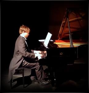 GSS pianist Gaute Andreassen Birkland