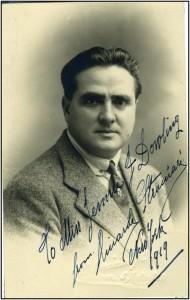 The Golden Age baritone and Operasinger Riccardo Stracciari (1875-1955) http://www.allmusic.com/artist/riccardo-stracciari-mn0001786194